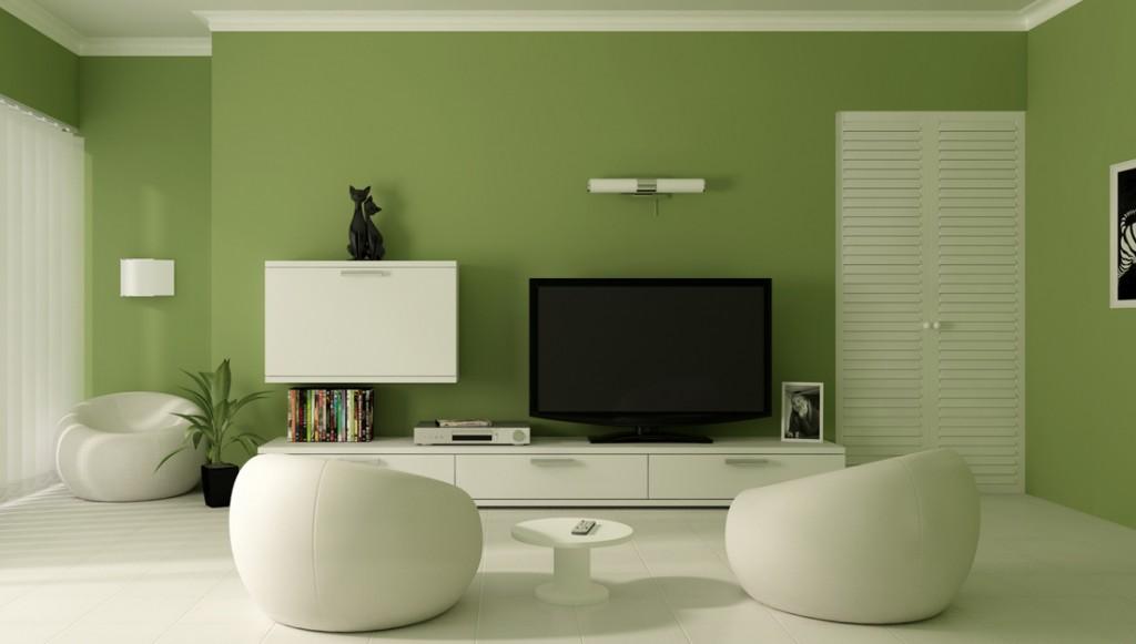 2cores sala verde