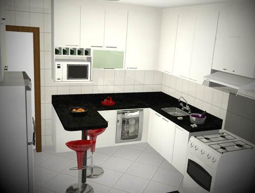 Balcao-para-cozinha-de-apartamento-pequeno