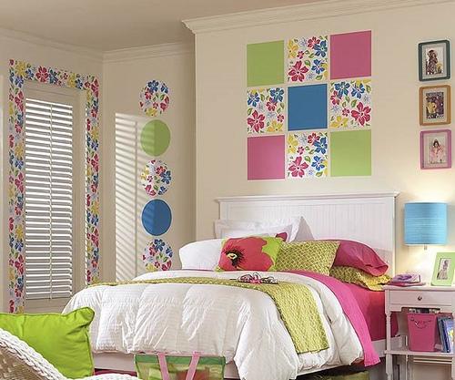 Decorar paredes com papel contact