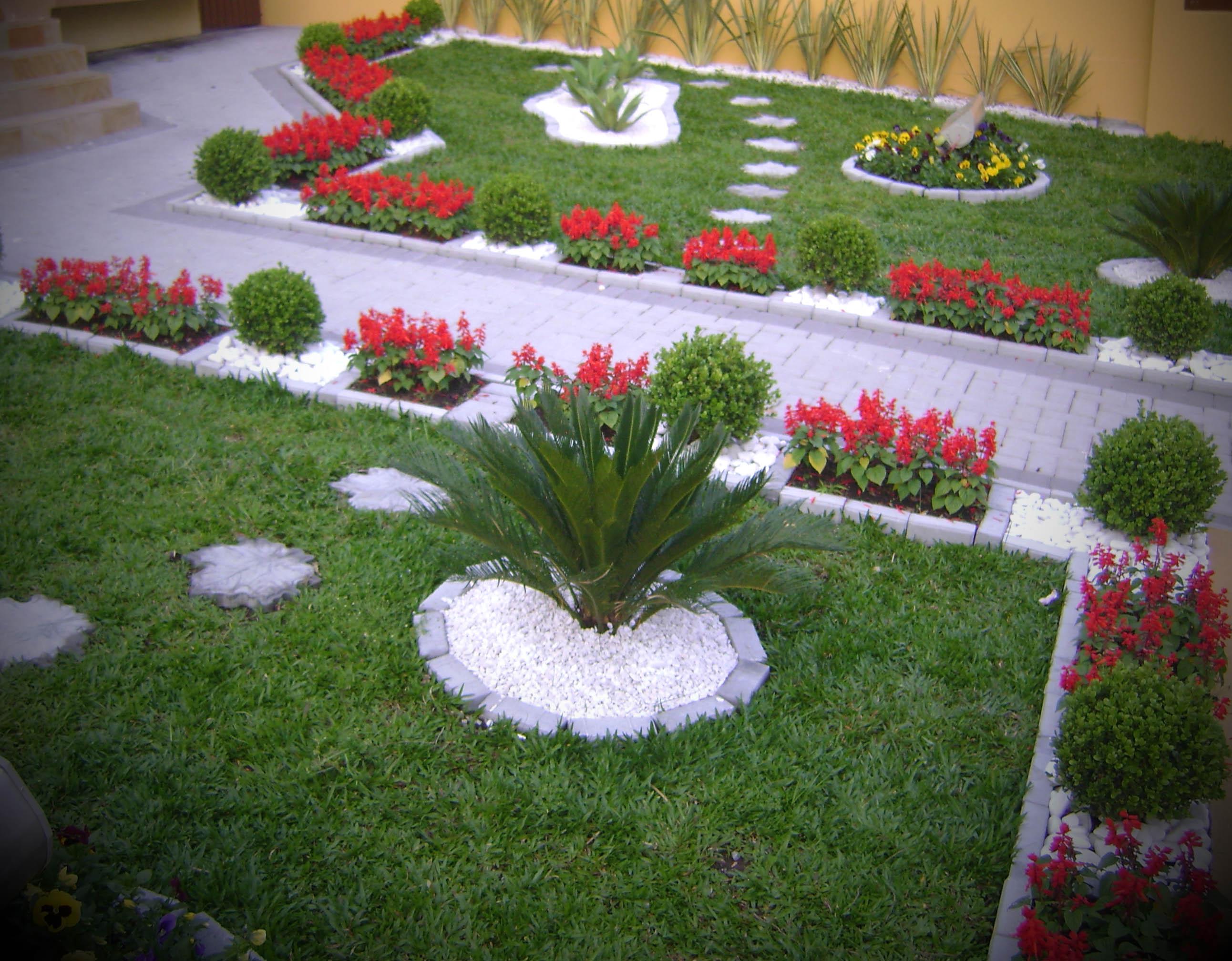 imagens de jardins decorados. Black Bedroom Furniture Sets. Home Design Ideas
