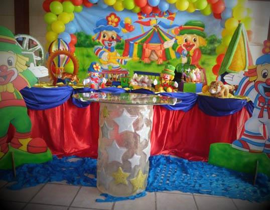 Mesa principal da decoracao luxo Patati Patata