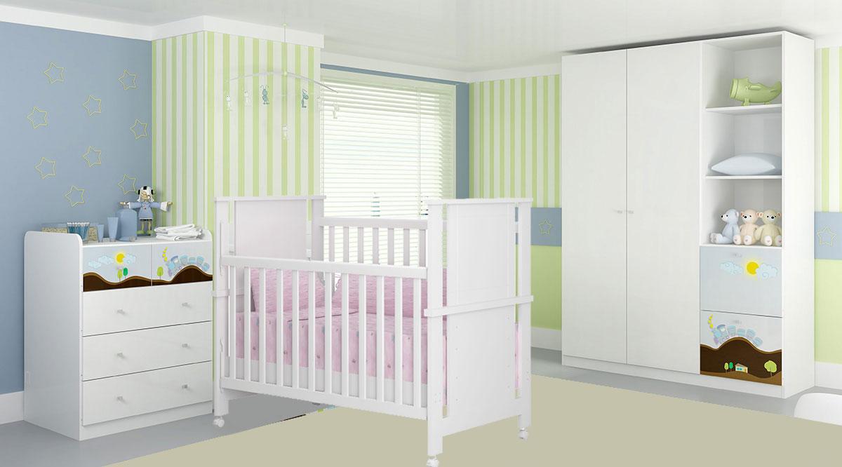 Quarto de Bebe Azul Kappesberg Dreams