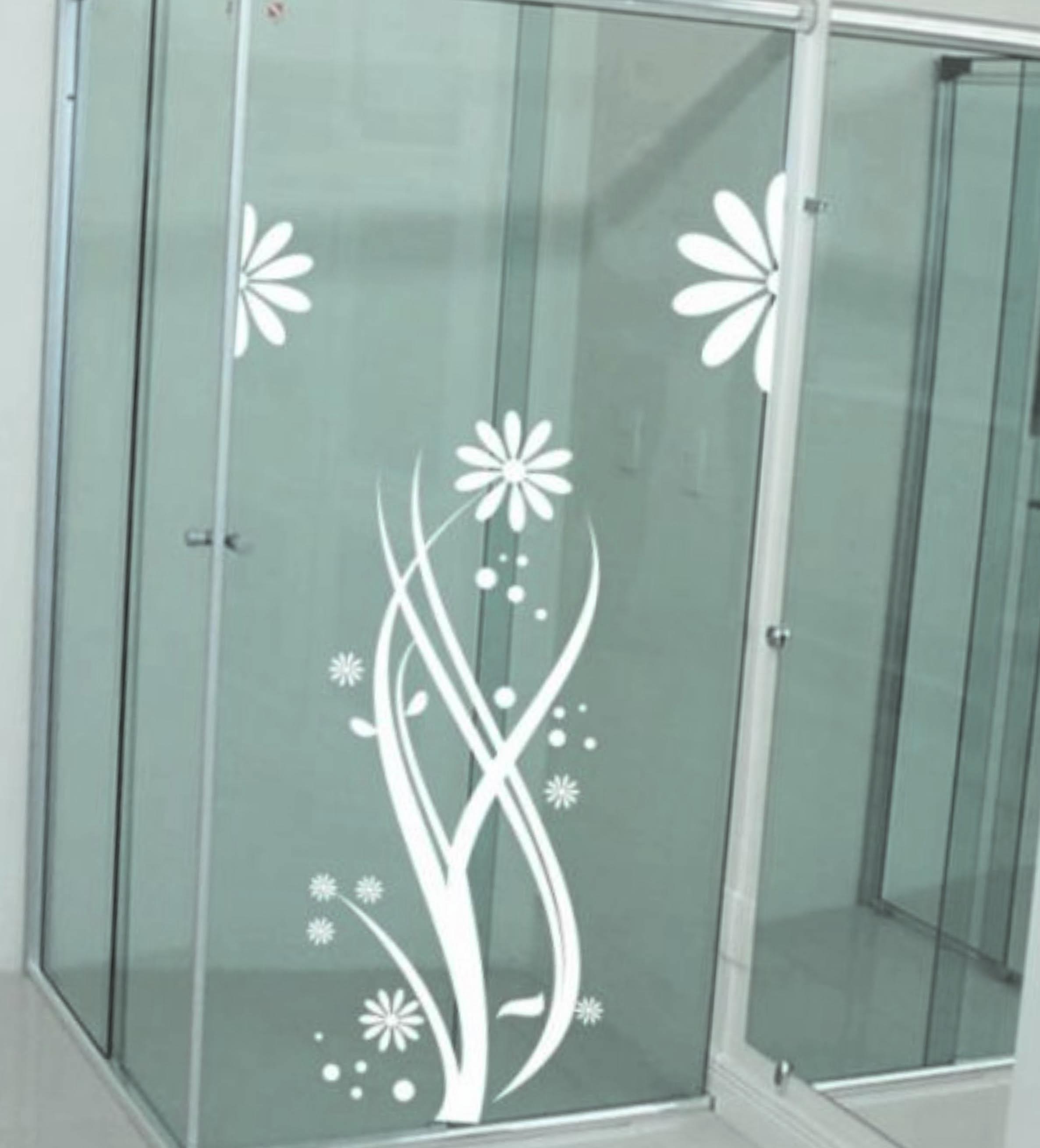 Adesivos no banheiro  Móveis Planejados Londrina -> Adesivo Para Decoracao De Banheiro