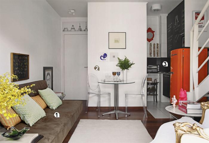 Ideias para decorar apartamentos pequenos for Decoracion interiores apartamentos pequenos