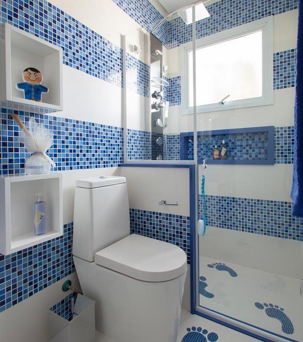 #474536 15 Ideias Criativas para Decorar Banheiros 619x700 px banheiro pequeno simples decorado