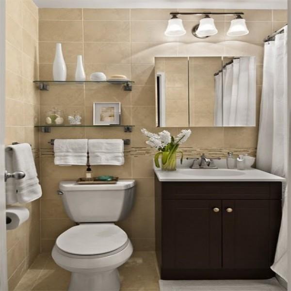 15+ Ideias Criativas para Decorar Banheiros -> Decoracao De Banheiro Com Papel Contact