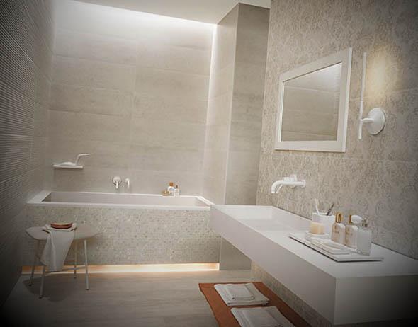 Ideias de Banheiros com Banheira -> Banheiro Com Banheira Metragem