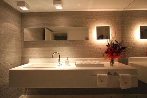 DECORAÇÃO & CIA Banheiros com porcelanato -> Decoracao De Banheiros Porcelanato
