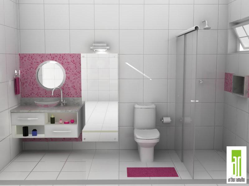 decoracao banheiro fotos : decoracao banheiro fotos:banheiros-femininos-decoracao.jpg