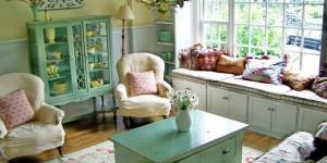 Decorar uma sala de estilo vintage