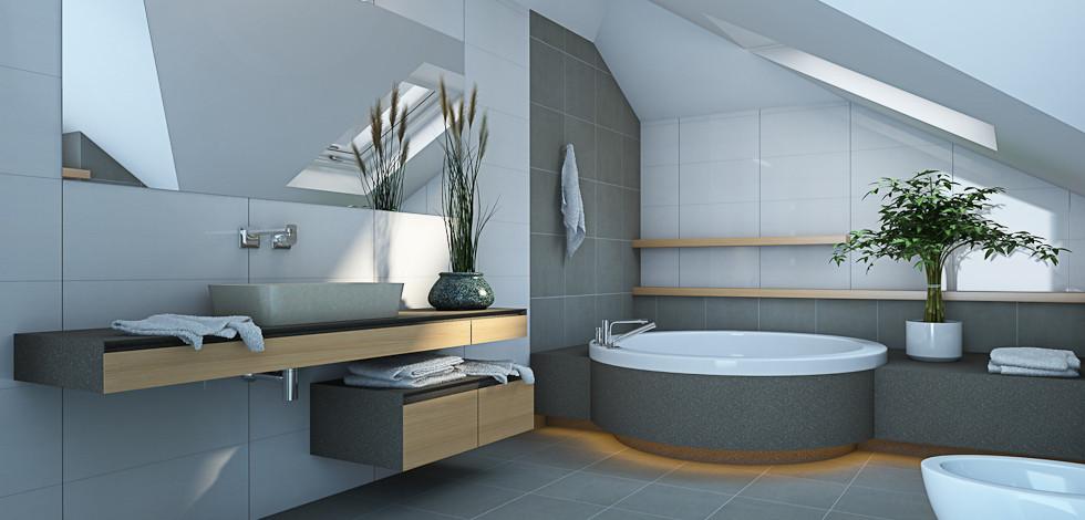 casa de banho moderno 16