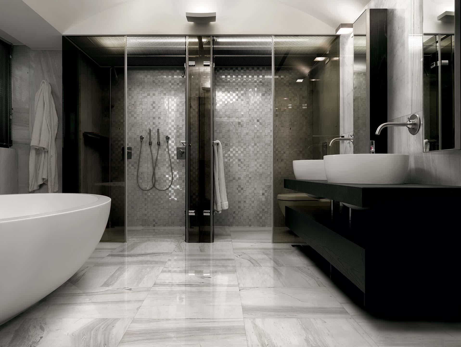 Arredo bagno mosaico prezzi design casa creativa e piastrelle