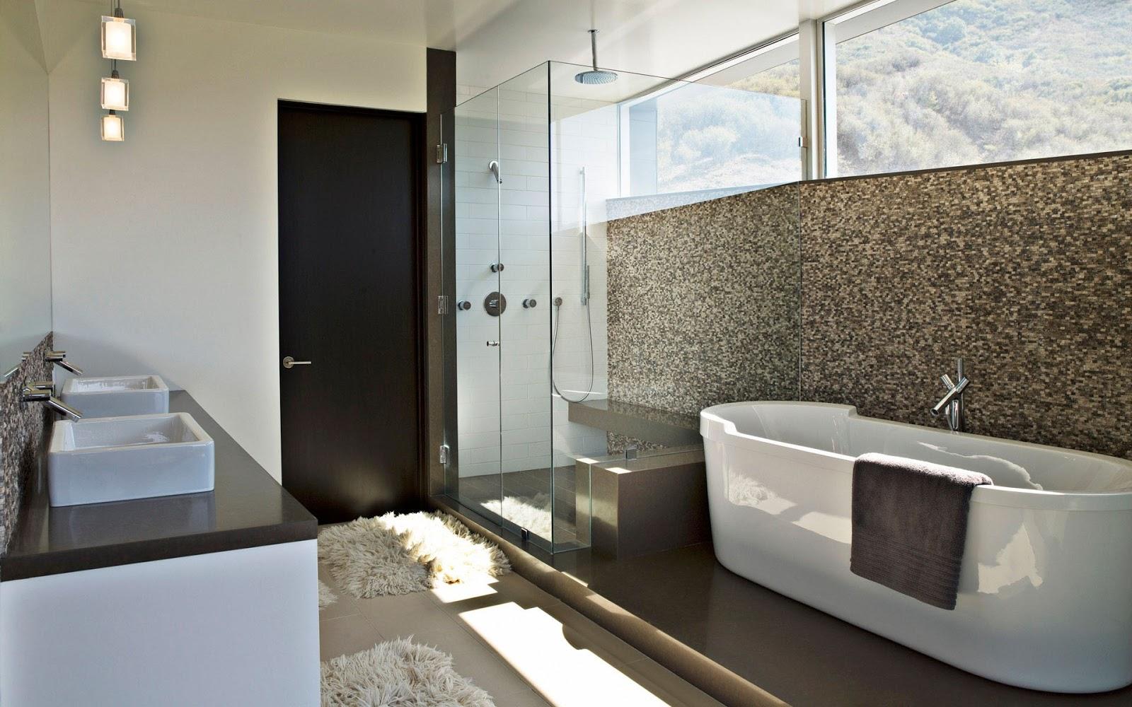 casa de banho moderno 8