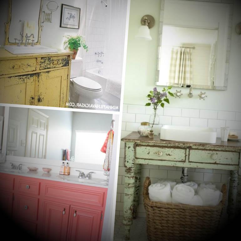 Ideias Para Decorar Banheiros Antigos : Fotos de banheiros antigos decorado