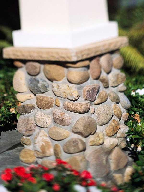 casa decorada com rochas 16