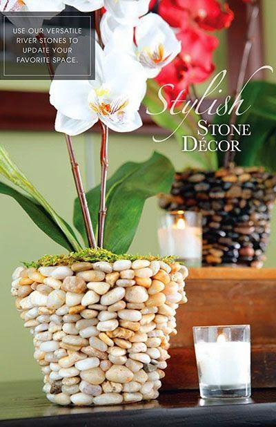 casa decorada com rochas 4