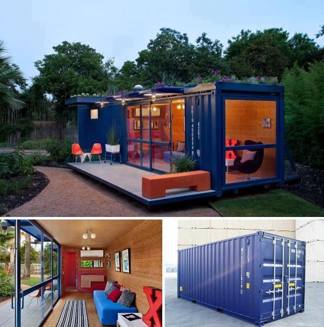 casa no container