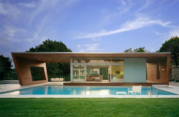 casas modernas com piscina