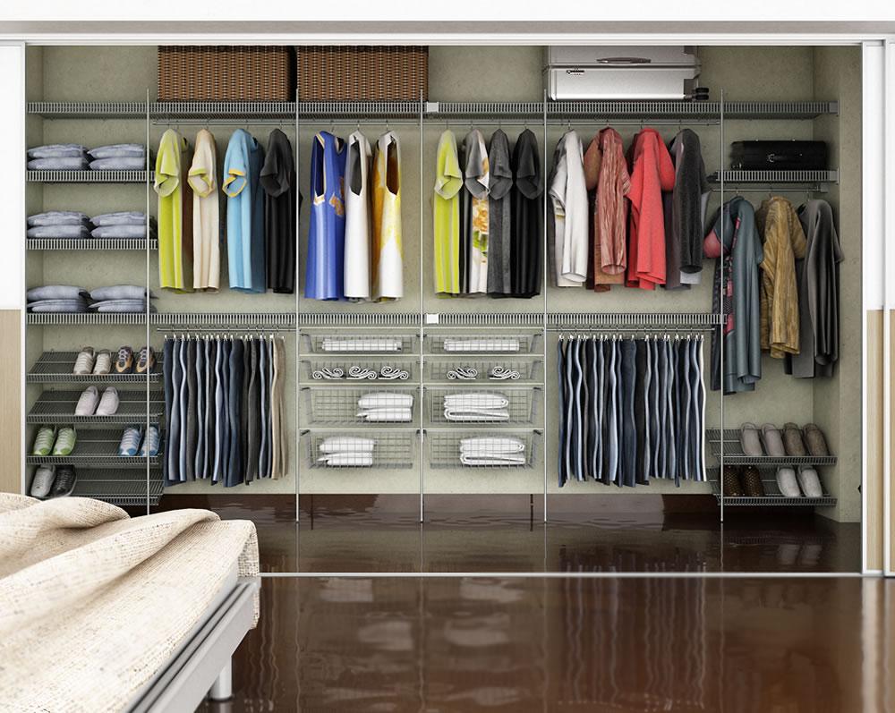 Modelos de closets planejados confira as novidades for Modelos de zapateras en closet