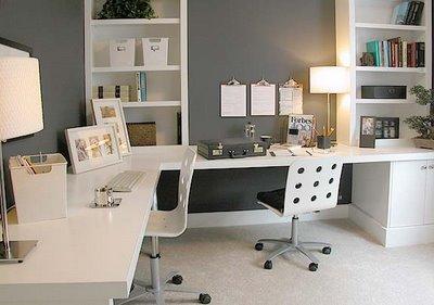 como decorar escritorios Decoração de escritórios
