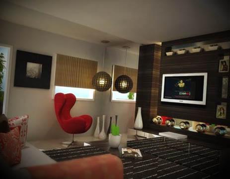 Fotos de decora o de casas modernas - Decorar interiores de casas ...