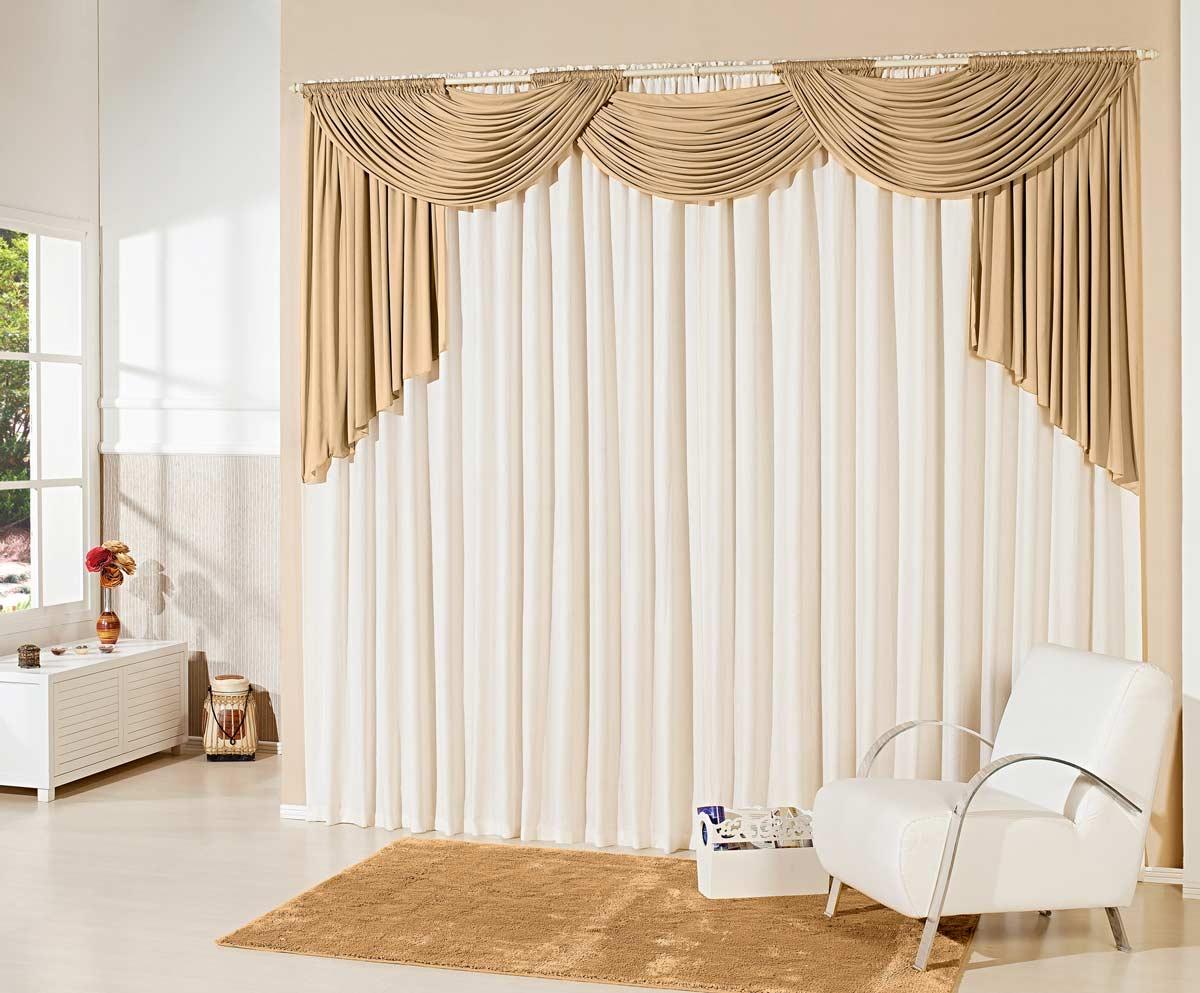 cortina aberta