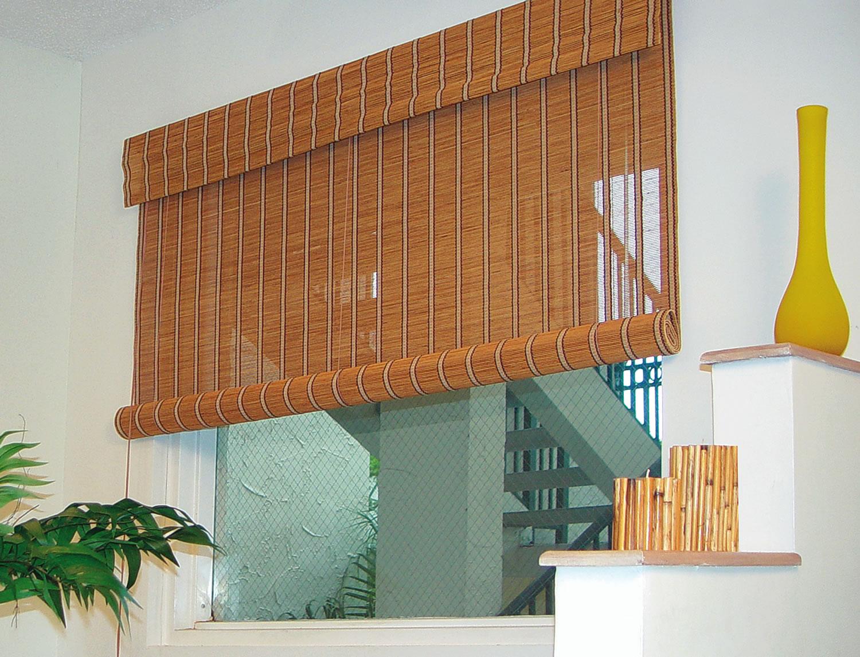 10 modelos lindos de cortinas de bambu - Cortinas tipo persianas ...