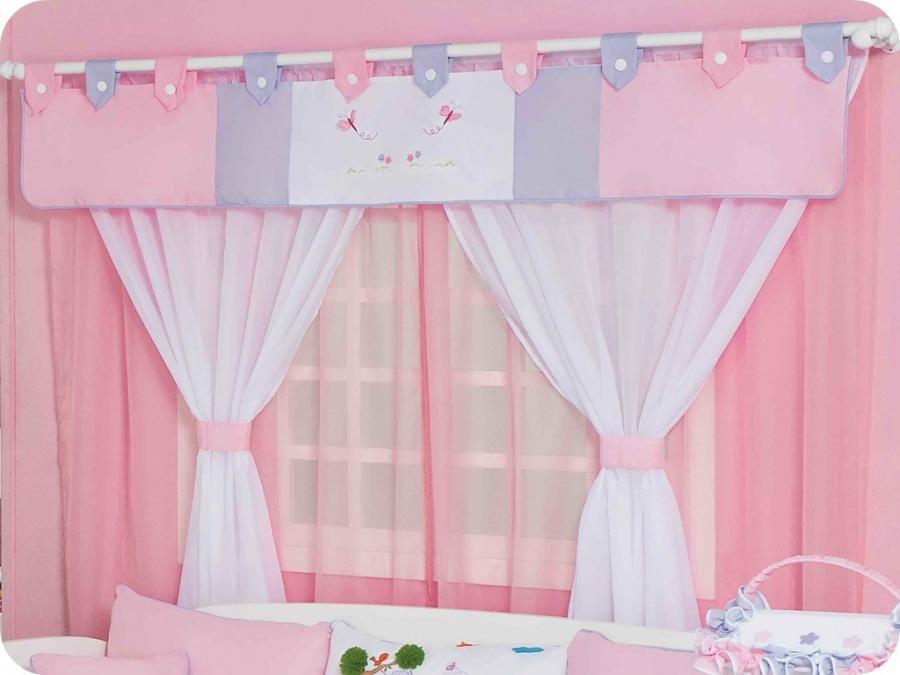 Decora o cia cortinas para quarto de beb - Cortina para cuarto de bebe ...