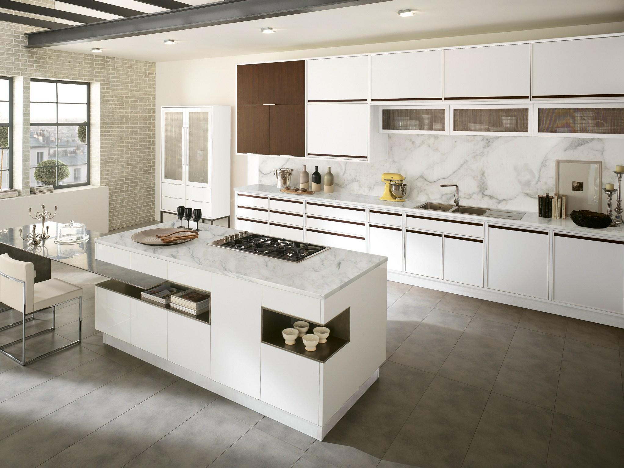 Modelo De Cozinha Com J Cozinha Com Ilha Mesmo Modelo De
