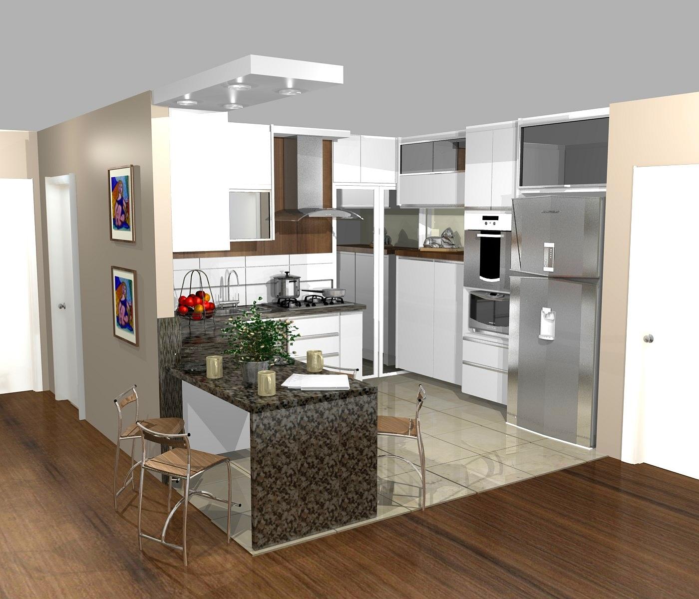 As Cozinhas Pequenas S O Muito Habituais Em Apartamentos Acabando