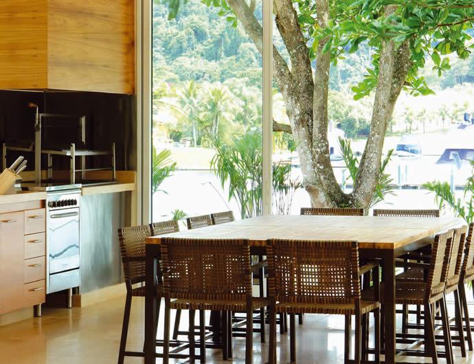Cozinha e Sala na mesma divisão