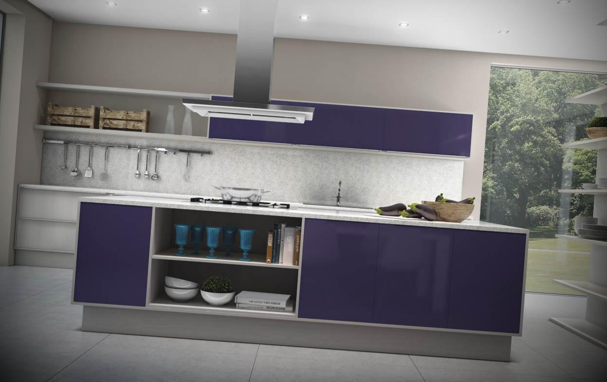 Cozinhas Modernas Coloridas Totalize Cobran A Condominial