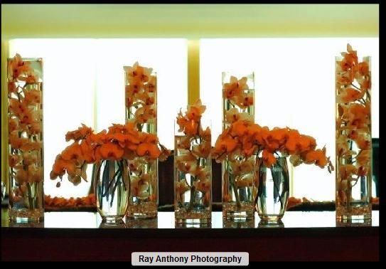 decoração com vasos de vidro