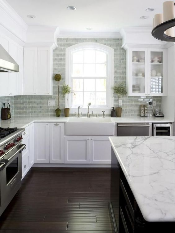 decoração cozinhas brancas