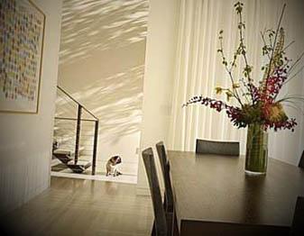 decoração-de-sala-de-jantar-delicada