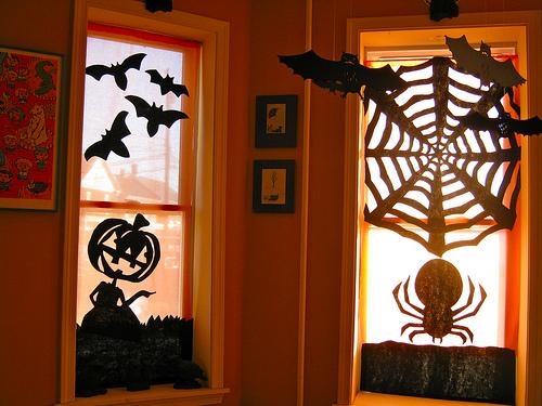 decoraçao-halloween-janela