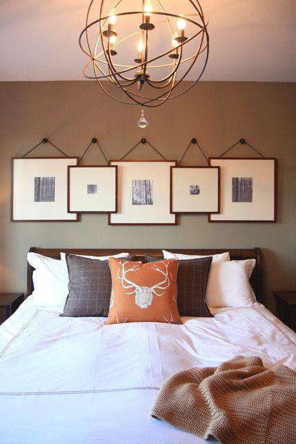 decoraçao quarto de dormir moderna