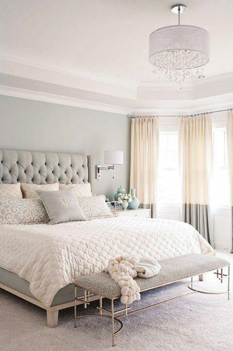 decoraçao quarto dormir cinza