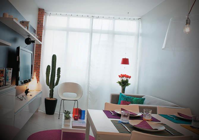 Fotos de apartamentos simples decorados