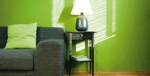 decoracao casa verde Decoração da casa em tons verde