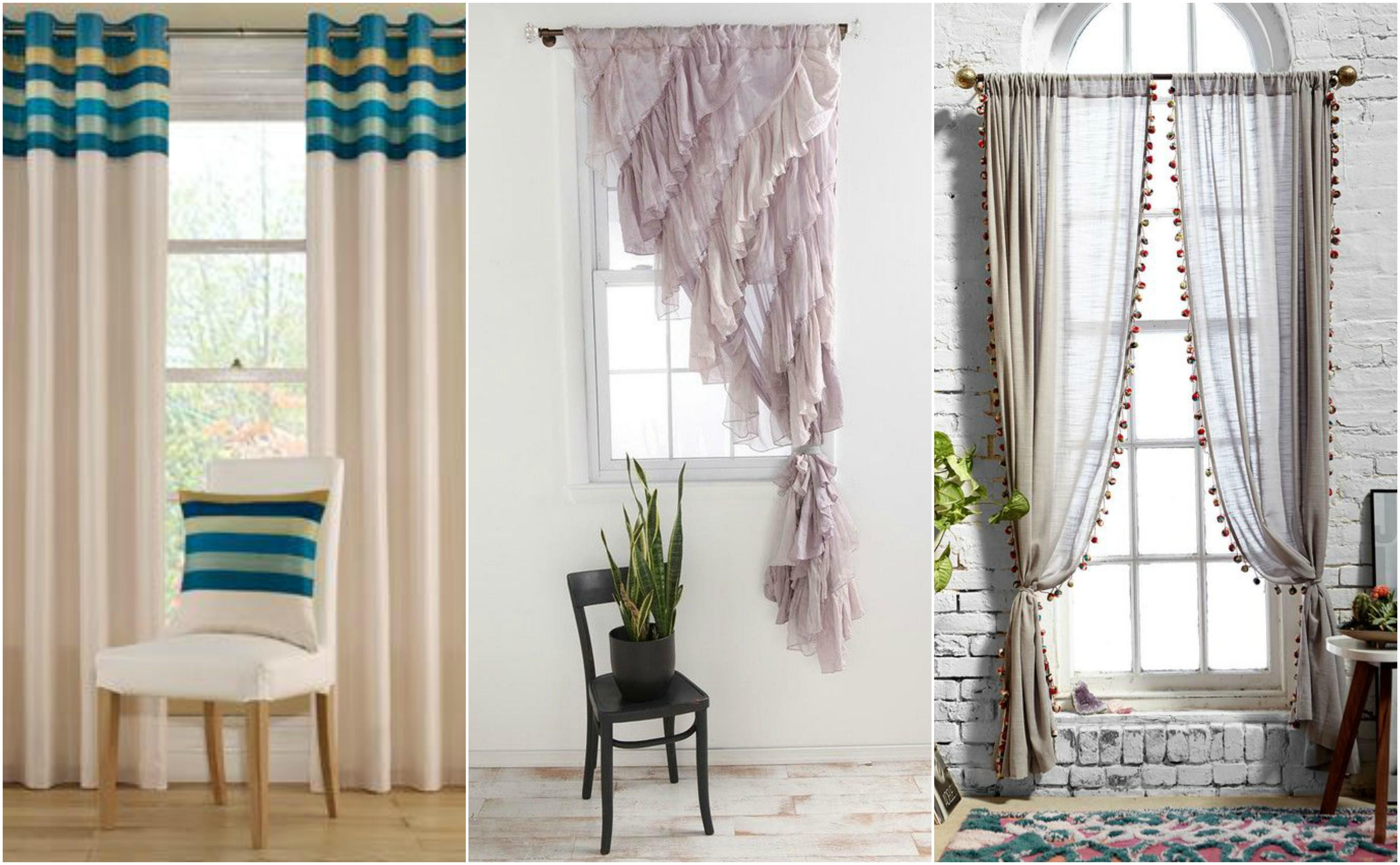 Modelos de cortinas para a decora??o de interiores