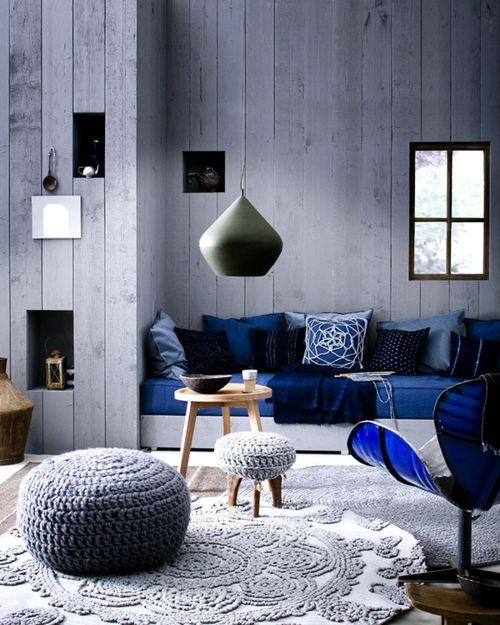 decoracao com papel parede madeira