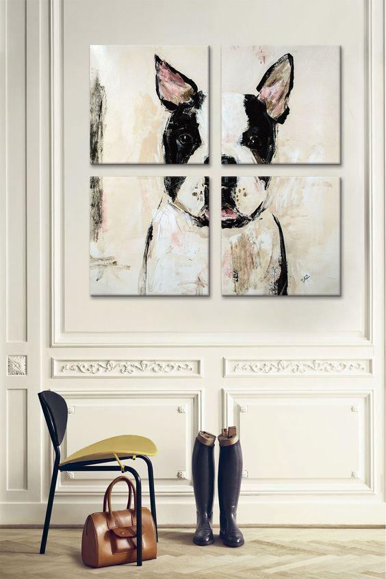 decoracao com quadros