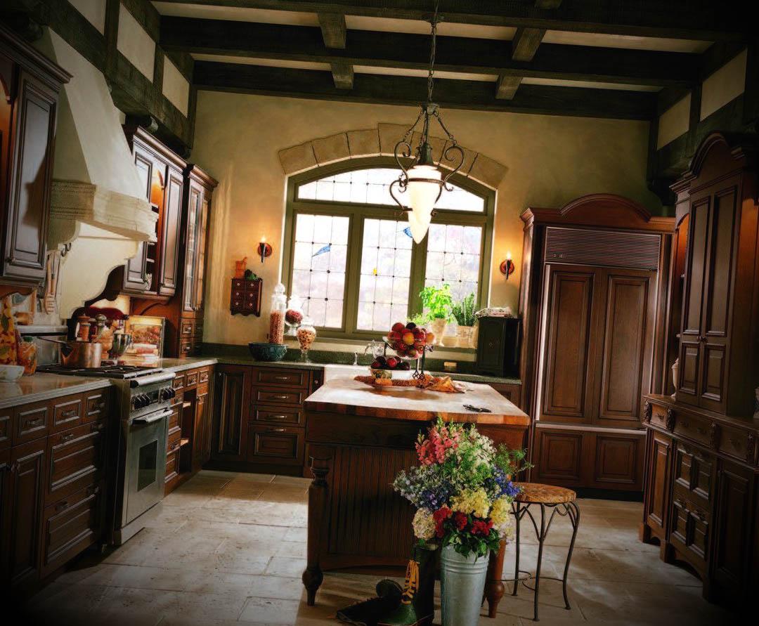 Fotos de Cozinhas no Estilo Ingl u00eas -> Decoração De Montras Em Ingles