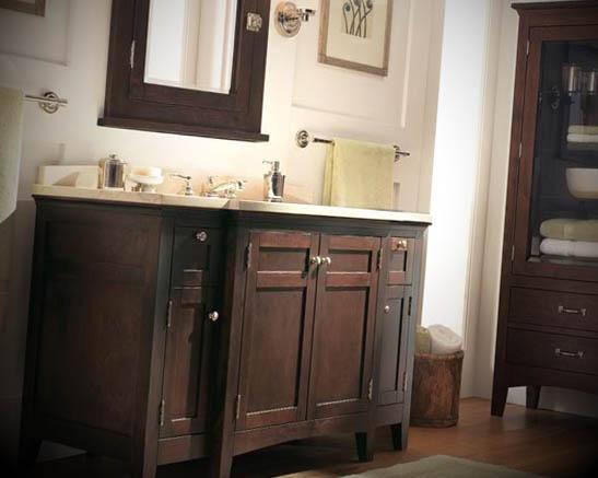 Fotos de Banheiros Antigos Decorado -> Decoracao De Banheiros Com Moveis Antigos