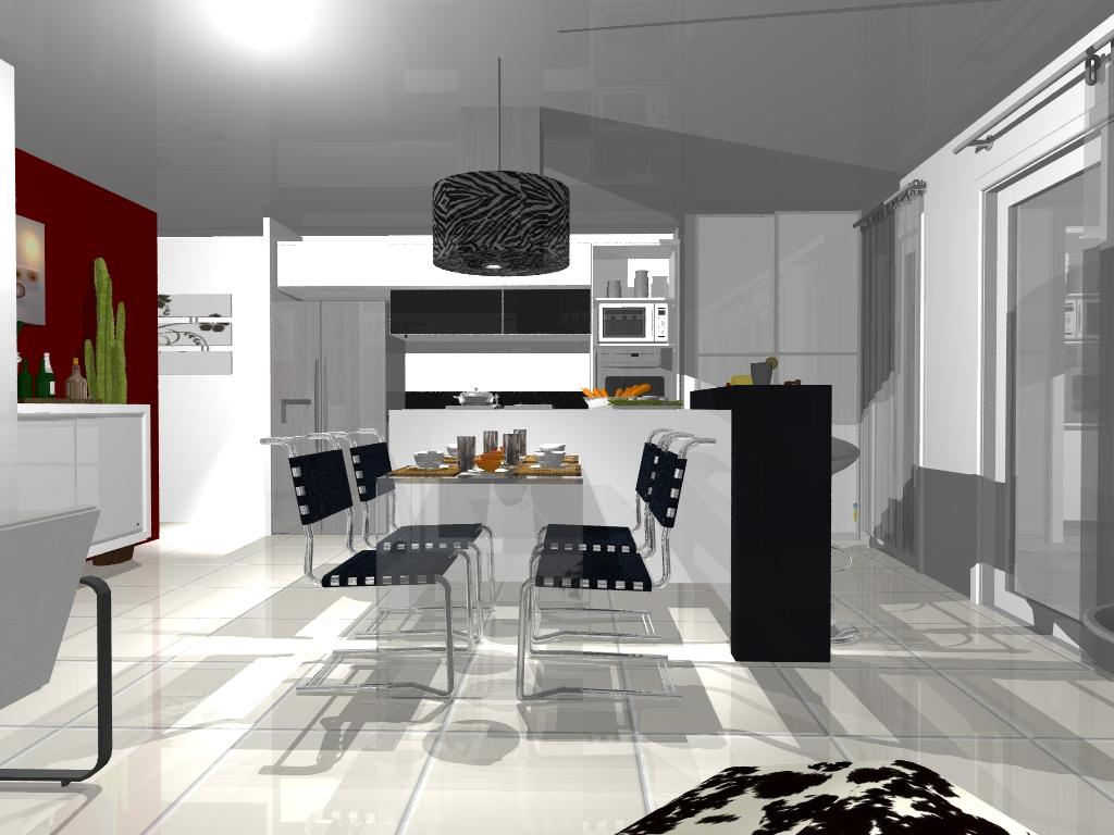 Decora o de interiores modernos - Interiores modernos de casas ...