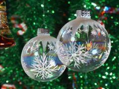 objectos de decoração de natal