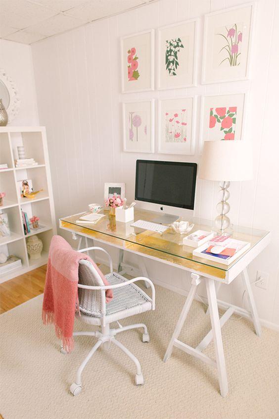 decoracao escritorio simples