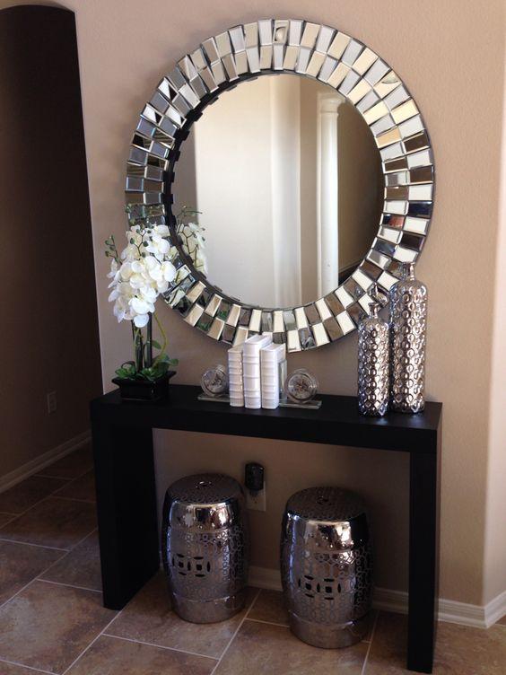decoracao hall entrada espelho 2