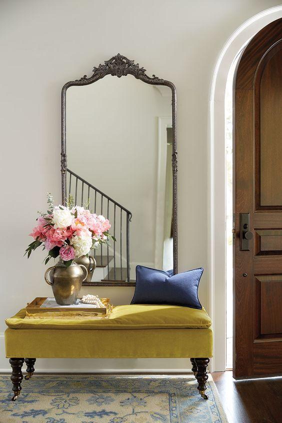 decoracao hall entrada espelho 4